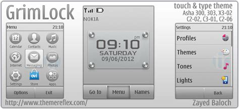 themes for nokia c2 06 touch and type grimlock theme for nokia asha 303 x3 02 c2 02 c2 06
