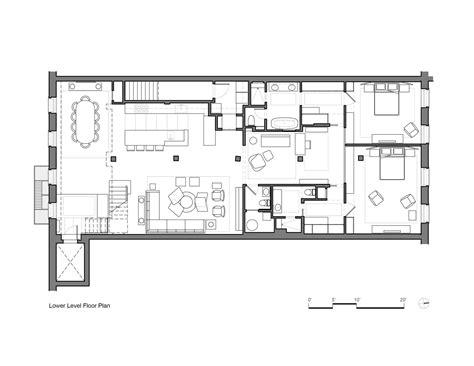 loft apartment plans gallery of tribeca loft andrew franz architect 9