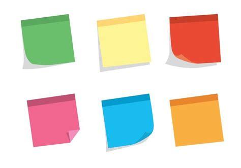 Sticky Note Set free vector sticky note set free vector