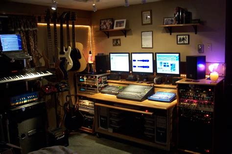 home photo studio 18 amazing home studio setups any musician would love