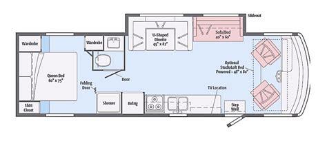 winnebago view floor plans 2017 winnebago vista 31ke cing world of mid missouri