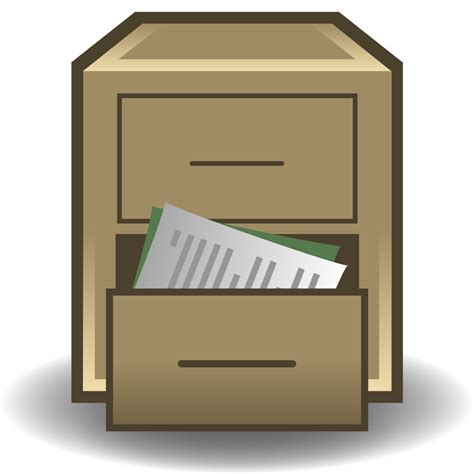 Replacement File Cabinet by File Replacement Filing Cabinet Svg