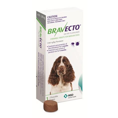 flea chews for dogs bravecto flea and tick chew for medium 10 20kg petbarn
