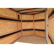 Cargo Trailers For Sale  V Nose Enclosed