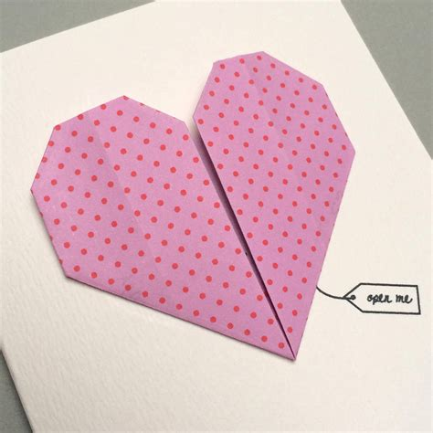 Secret Message Origami - secret message origami card by