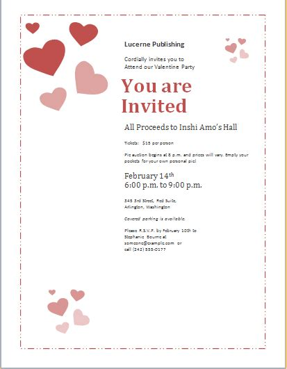 valentine templates for word word document invitation template orderecigsjuice info