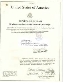 Certification Letter To Embassy Apostille Examples Legalization Examples