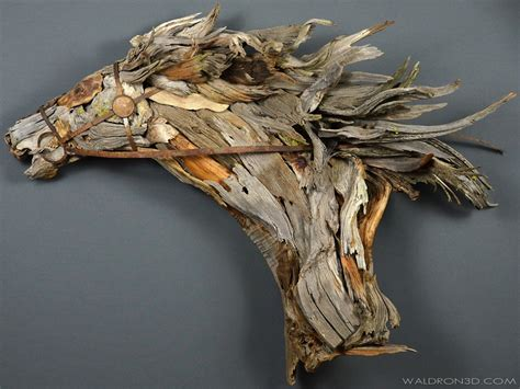 dynamic sculptures wood metal scraps discarded vuing