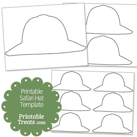 zookeeper design pattern safari hat coloring page shared by misty 106463