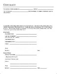 acting contract template free printable home improvement contract form generic
