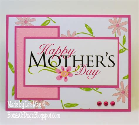 mothers day card mothers day card operation write home mothers day card