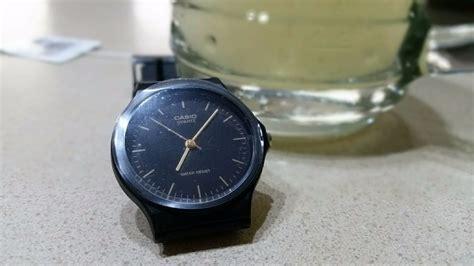 Casio Mq 24 1 Original reloj casio mq 24 1e original manecillas negro y dorado