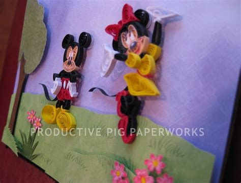 quilling mouse tutorial pinterest the world s catalog of ideas