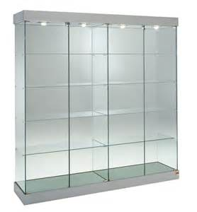 Shop Glass Display Cabinets Ebay Showcase Shop Display Glass Cabinet With Lights