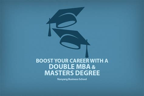 Is Mba Postgraduate Degree by Mba The Nanyang Mba