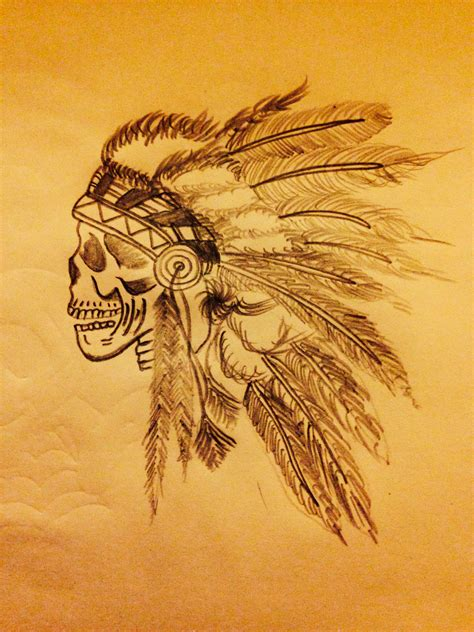 tattoo idea indian head dress tattoos