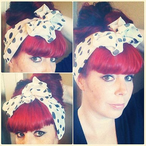 1940s bandana hairstyles 17 best images about 50 s sock hop on pinterest