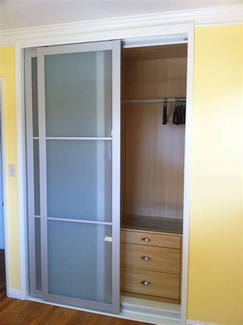 Closets Sliding Doors Cool Bifold Closet Doors Ikea Homesfeed