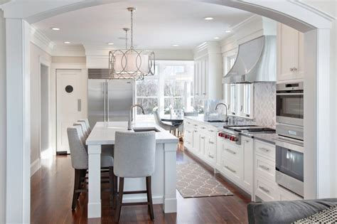 new england kitchen design walnut and white transitional kitchen boston by