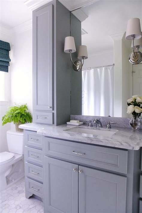 Grey Bathroom Vanity Cabinet Best 25 Grey Bathroom Vanity Ideas On Pinterest Gold Accents Gold Bathroom And Herringbone