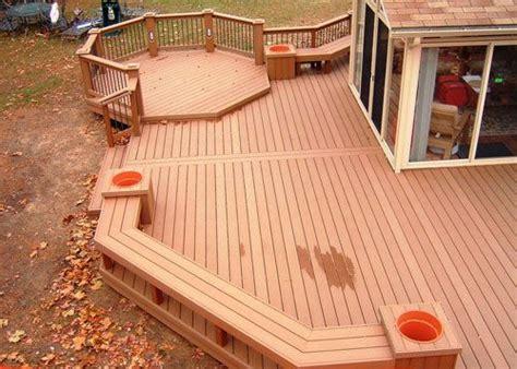 backyard floor design 25 best ideas about wood deck designs on pinterest