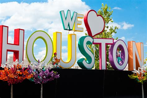 we love houston sign houston is great and we re not afraid to say it anymore