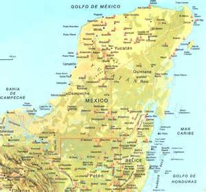 Yucatan Mexico Map by Yucatan Peninsula Map Related Keywords Amp Suggestions