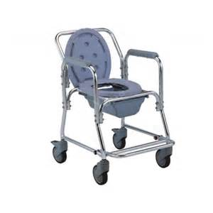 commode chair plastic seat with and wheels