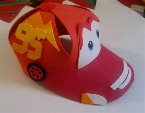 como hacer gorras de fomix del cars cars foami moldes imagui