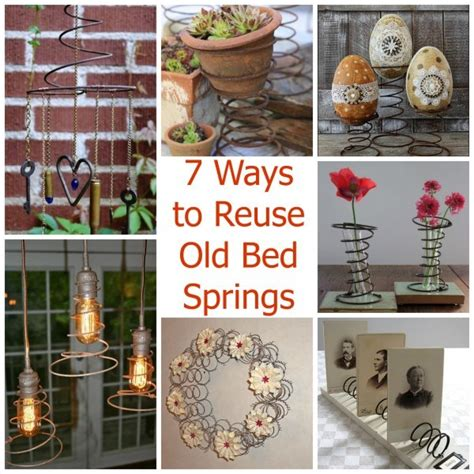 bed spring crafts 7 ways to reuse old bed springs recycled crafts