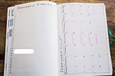 monthly layout bullet journal bullet journal update the house of plaidfuzz