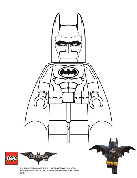 lego batman movie batman coloring page legos