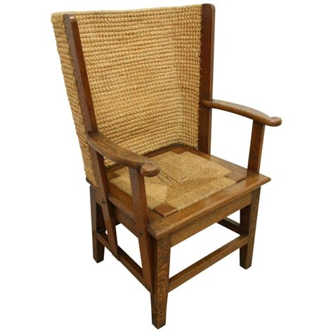 Orkney Chair by Small Oak Framed Orkney Chair Georgian Antiques