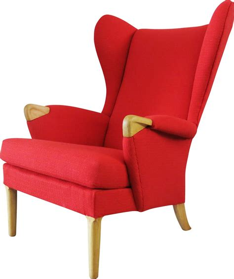 armchair red red armchair chairs seating