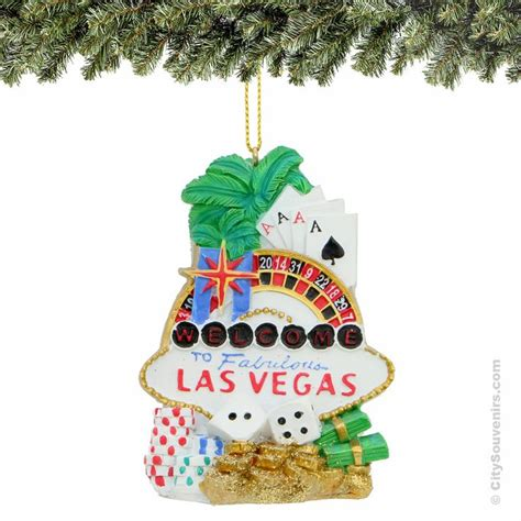 welcome to fabulous las vegas ornament las vegas christmas