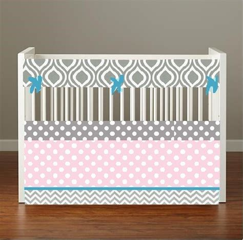 pink and turquoise baby bedding crib bedding baby bedding crib set gray chevron geometric
