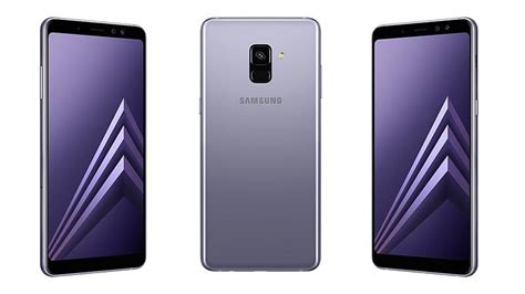 Samsung Galaxy A80 6gb Ram Price In India by Samsung Galaxy A8 2018 With 6gb Ram Dual Selfie Cameras Launched In India Price