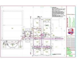 Sample Floor Plans For Daycare Center autocad plumbing drafting samples