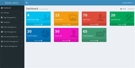 laravel 5 dynamic layout laravel dynamic website with admin panel ldwap by