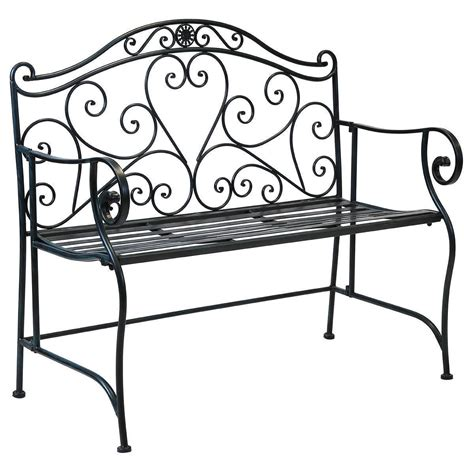 wrought iron garden table bentley garden white wrought iron bench buydirect4u