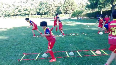 imagenes sensoriales ejercicios f 250 tbol para ni 241 os calentamiento de coordinaci 243 n youtube