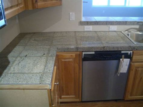 granite tile bar top 25 best images about tile kitchen counter tops on