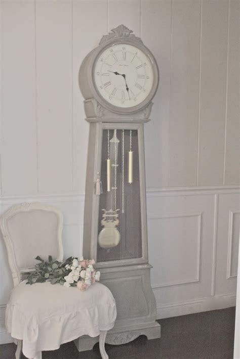 chalk paint grandfather clock 16 best images about grandfather clock makeover on