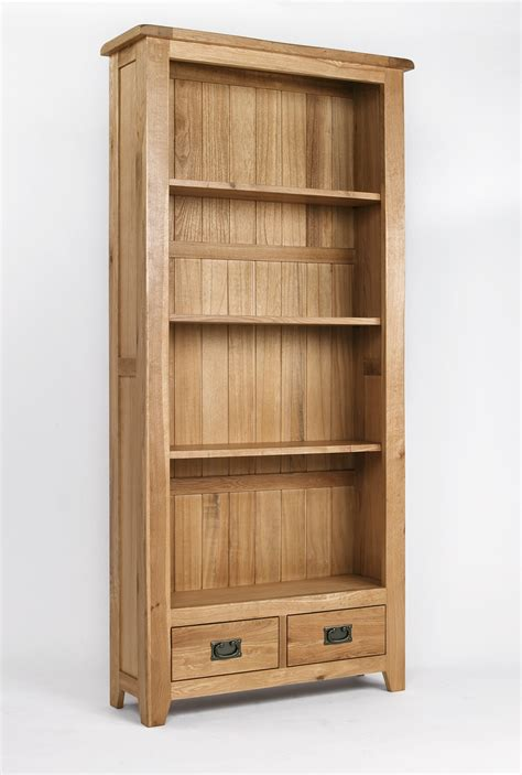 Oak Book Shelf by Westbury Reclaimed Oak Bookcase Oak Furniture Solutions