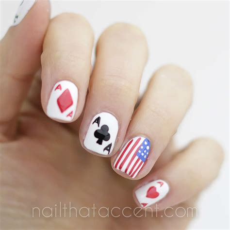 Nail Gift Card - house of cards nail art nail that accent