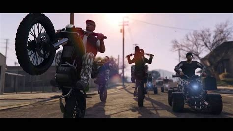 grand theft auto v trailer youtube grand theft auto v online bikers trailer youtube