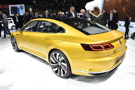 new volkswagen sports vw sport coupe concept gte it s the new passat cc by car