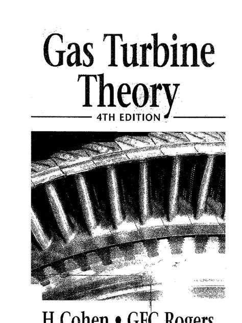 Gas Turbine Theory gas turbine theory henry cohen g f c rogers h i h