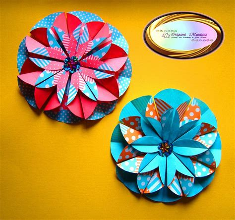 Flores Origami - origami paso a paso de flores imagui rosas en origami