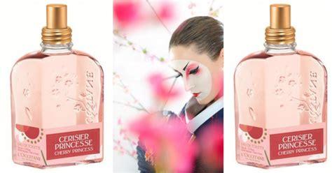 l occitane en provence cerisier princesse cherry princess new fragrances